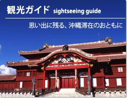 【観光ガイド】sightseeing guide 思い出に残る、沖縄滞在のおともに